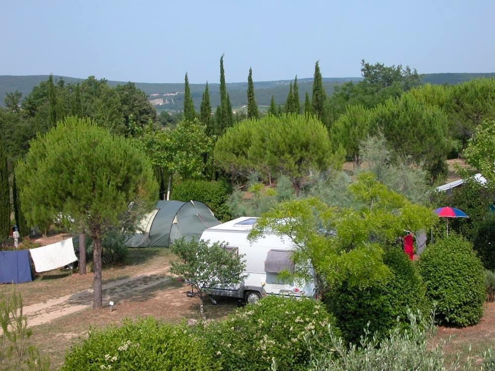 emplacement camping-gard