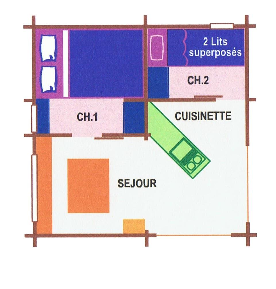 location de bungalow dans le gard pas cher sans sanitaires pour 4 personnes
